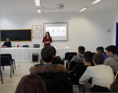 Gli studenti dell'Istituto Alberghiero di Ladispoli a lezione di event management