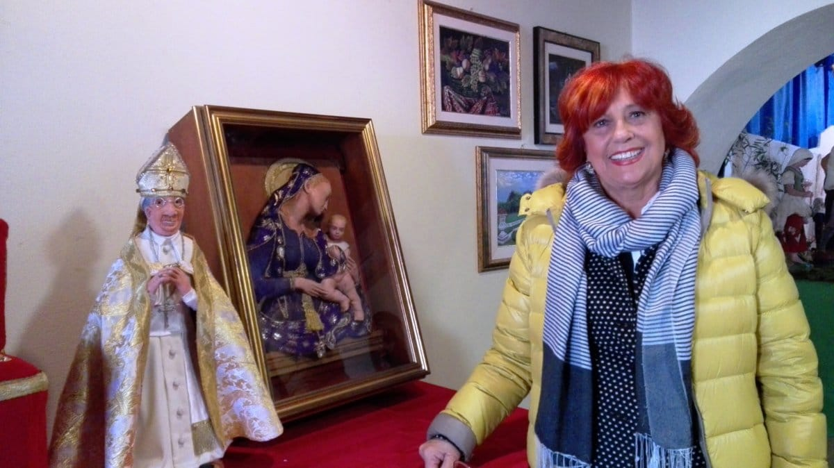 A Manziana i presepi artistici di Rossana Ricciardi