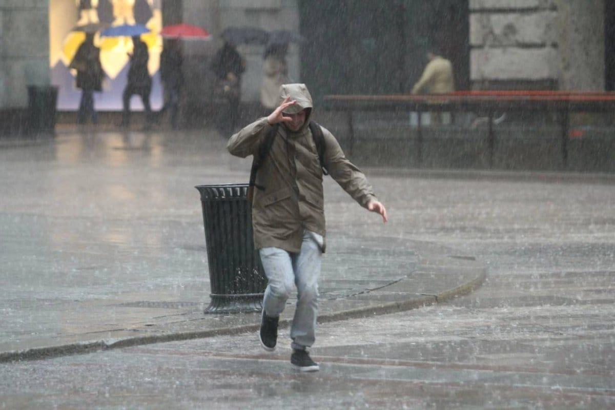 Allerta meteo per temporali per le prossime 12-18 ore sul Litorale