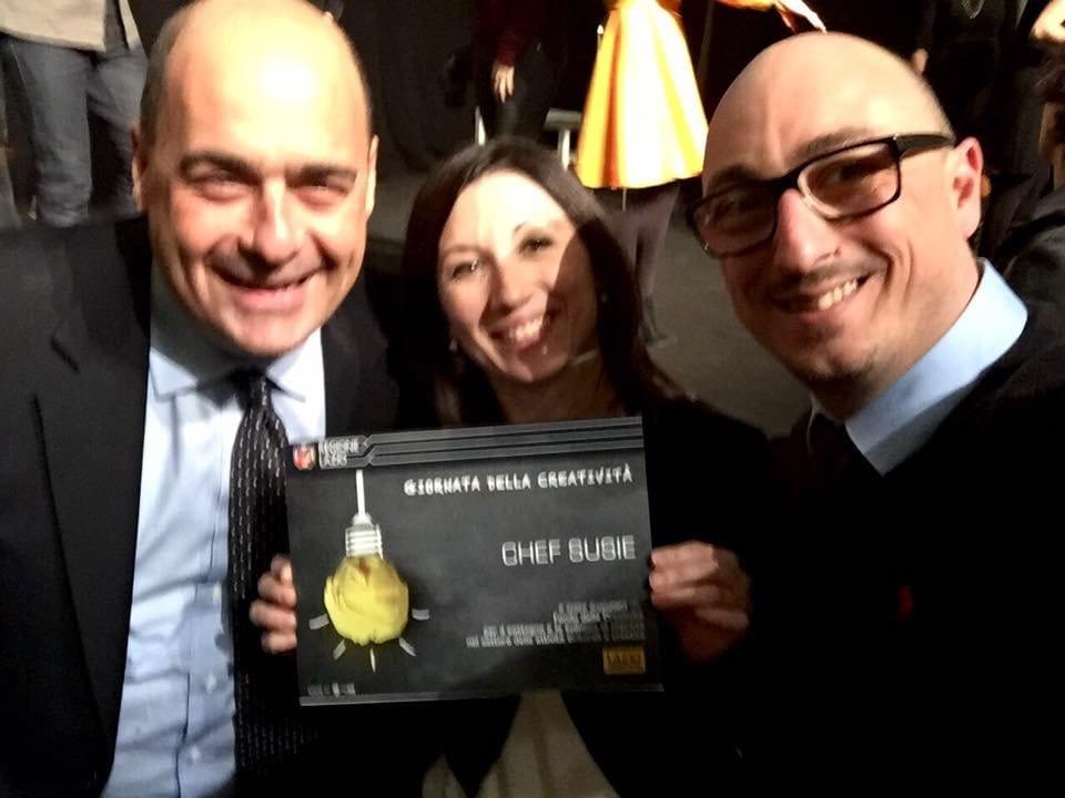 """Innovazione, Silvia Amantini vince il premio della Regione Lazio """"Imprese culturali e creative 2016"""""""