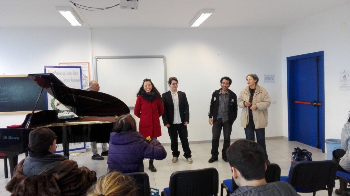 Alberghiero Ladispoli, il nuovo  anno si apre col concerto dei pianisti Omar Darder e Federico Brini