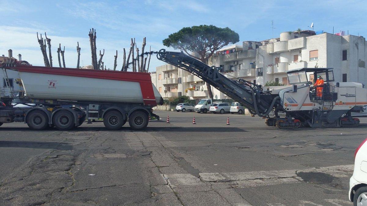 Cerenova zito oggi ripresi lavori di manutenzione for Lavori di manutenzione straordinaria