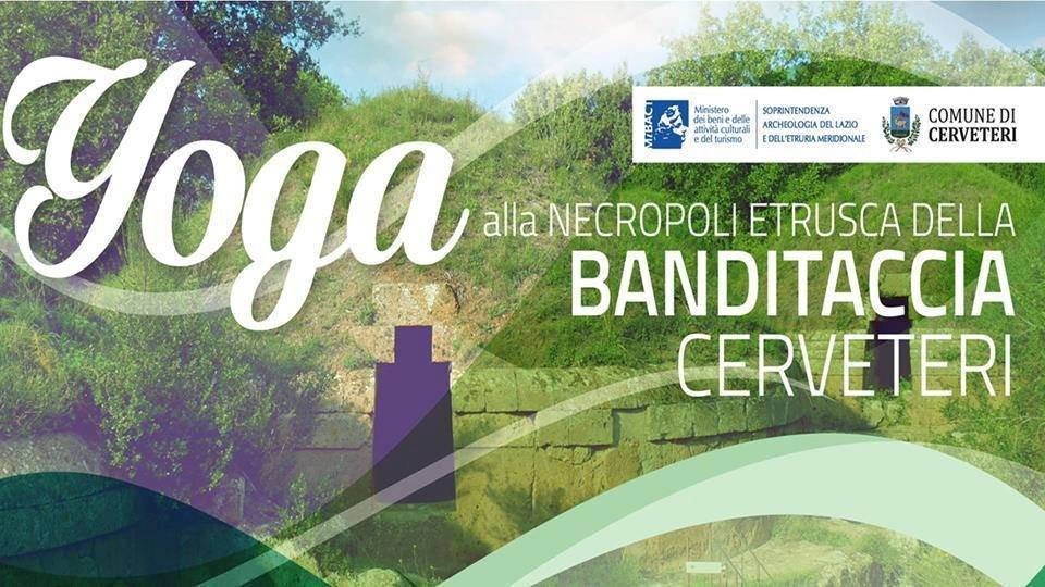 Cerveteri, domenica 2 aprile alla Necropoli tornano trenino turistico e lezioni di yoga gratuite