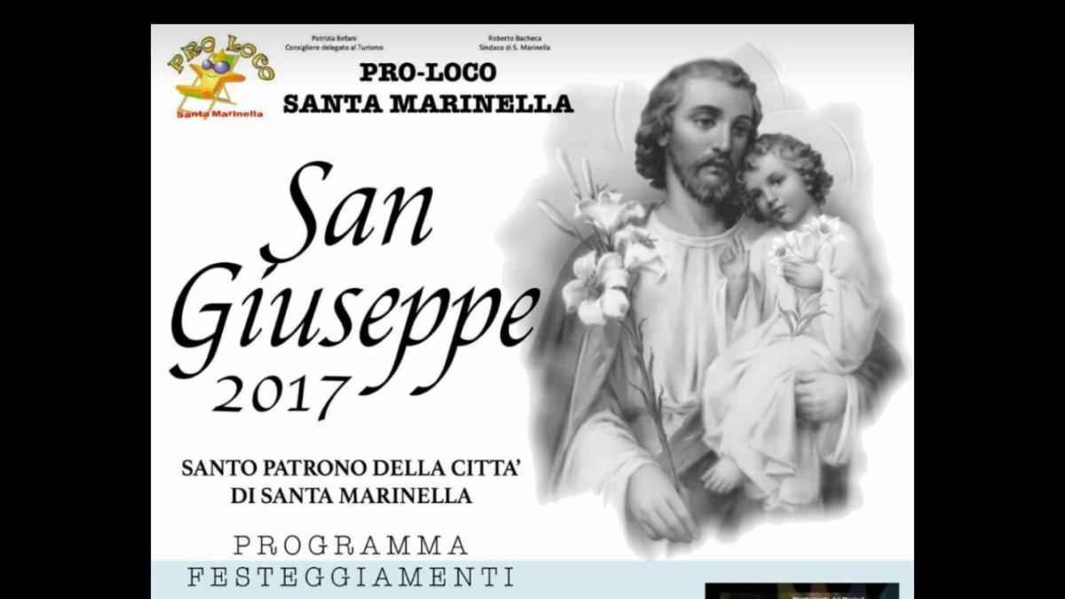 Santa Marinella, il programma per la festa di San Giuseppe