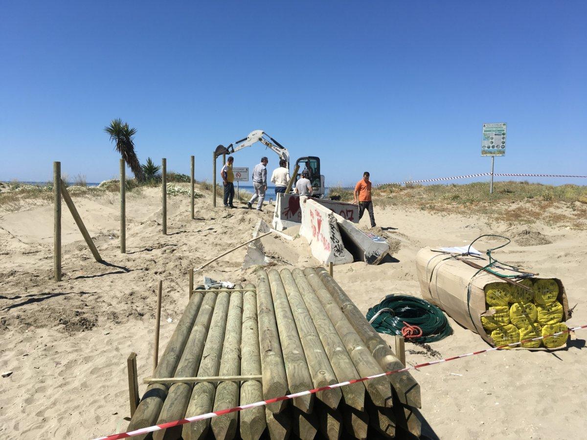 Passoscuro, dune messe in protezione