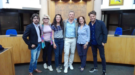 Ladispoli, un successo l'incontro dell'alberghiero con l'attore Kaspar Capparoni