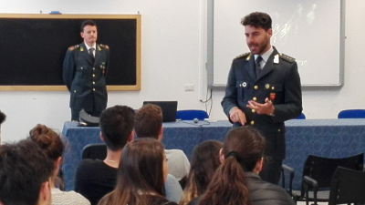 Ladispoli, educazione alla legalità economica: studenti dell'Alberghiero incontrano la Guardia di Finanza