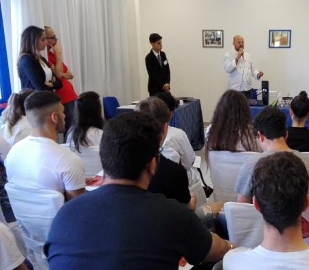 Alberghiero Ladispoli, show-cooking dello chef Giovanni Cappelli: presidente dell'Italian Kitchen Academy di Roma