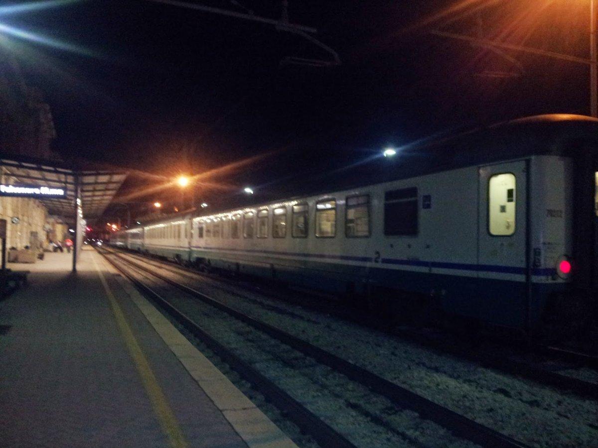 Ladispoli, treno acceso la notte: sarà spostato di nuovo
