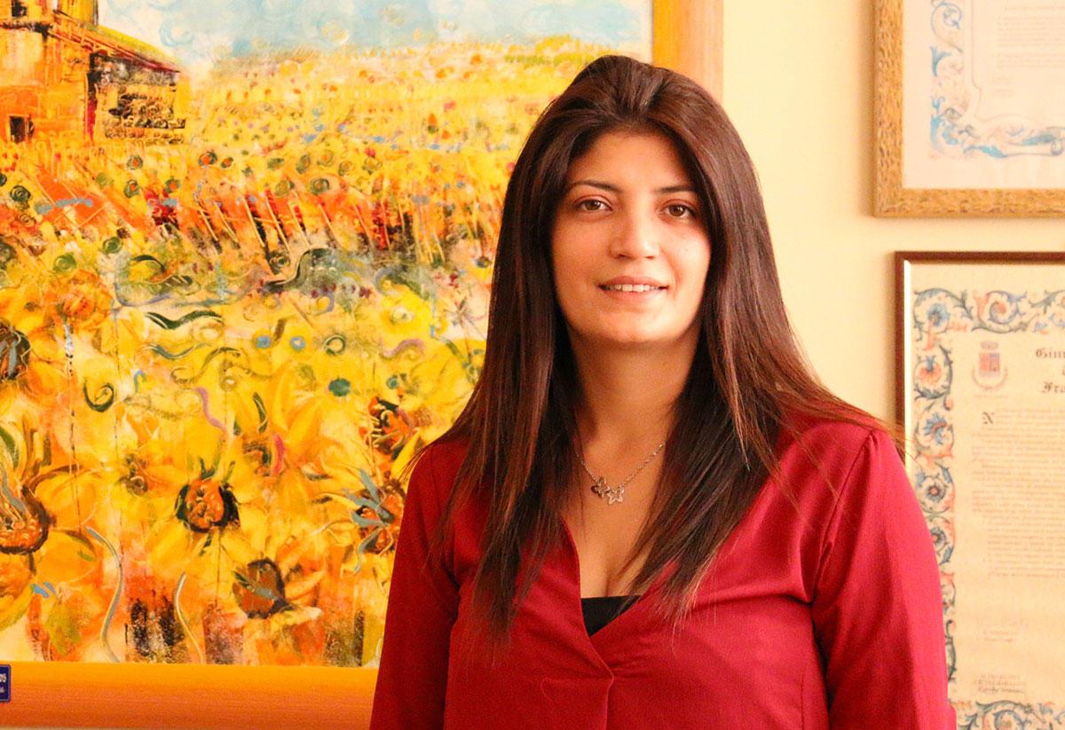 L'assessore Amelia Mollica Graziano