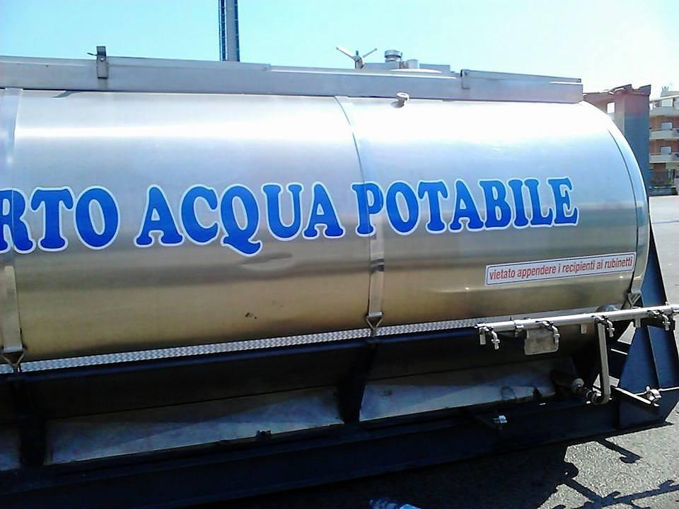 Non potabilità Anguillara: autobotte sostitutiva h24