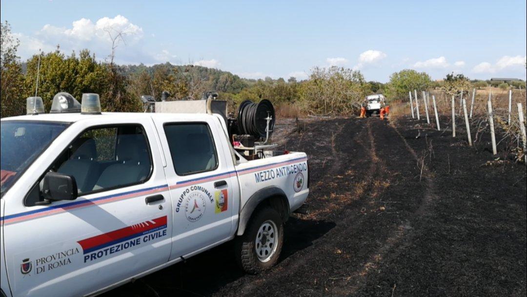 """Cerveteri, l'assessore Ferri sugli incendi: """"Disattesa l'ordinanza sulla pulizia dei terreni"""""""