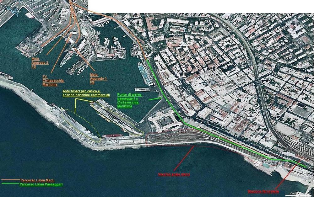 Civitavecchia, dall'Abruzzo spingono per la ferrovia diretta verso il porto