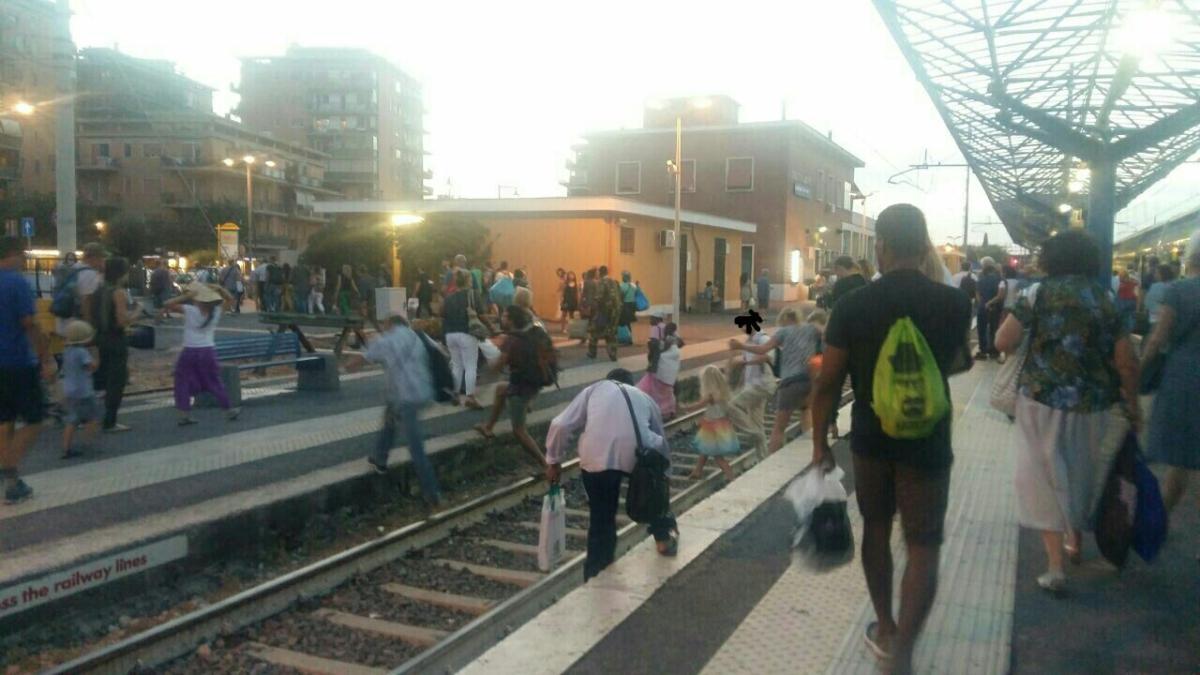 Stazione di Ladispoli, è allarme sicurezza
