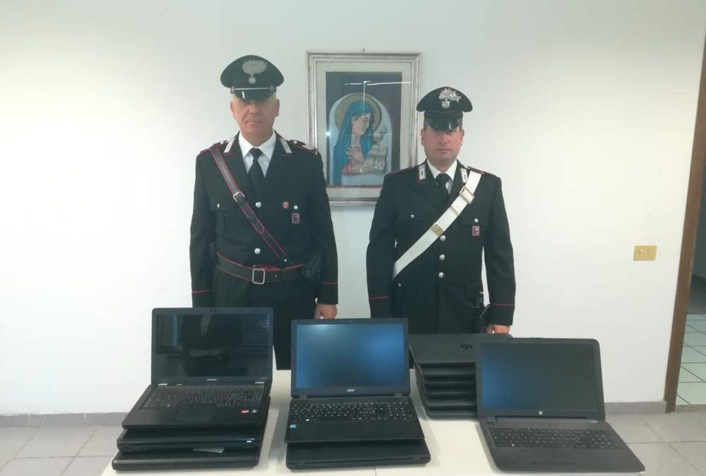 Bracciano, furto alla Giovanni Bosco: i carabinieri fermano i ladri