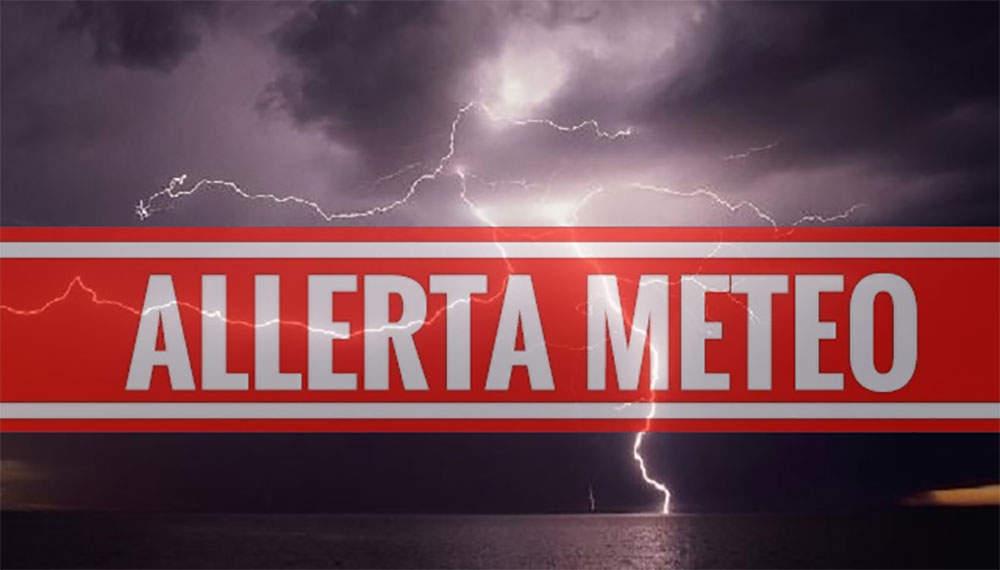 Allerta meteo su tutta la regione Lazio da domani