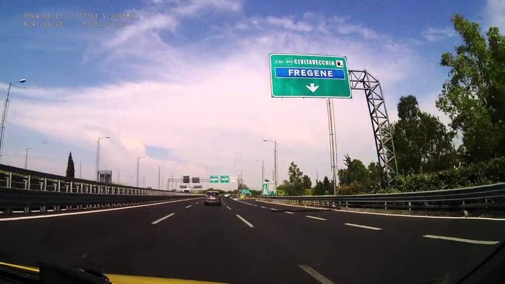 Mercoledì lavori sulla A12 Civitavecchia-Roma