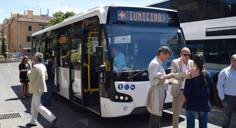 Riparte il servizio di bus navetta tra Cerveteri, Ladispoli e Fiumicino