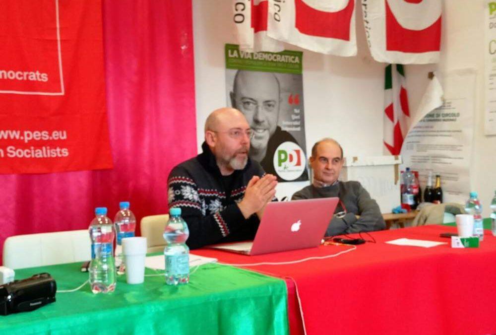 Primarie Pd a Cerveteri, Astorre doppia Manicini: duro colpo al gruppo a sostegno di Juri Marini