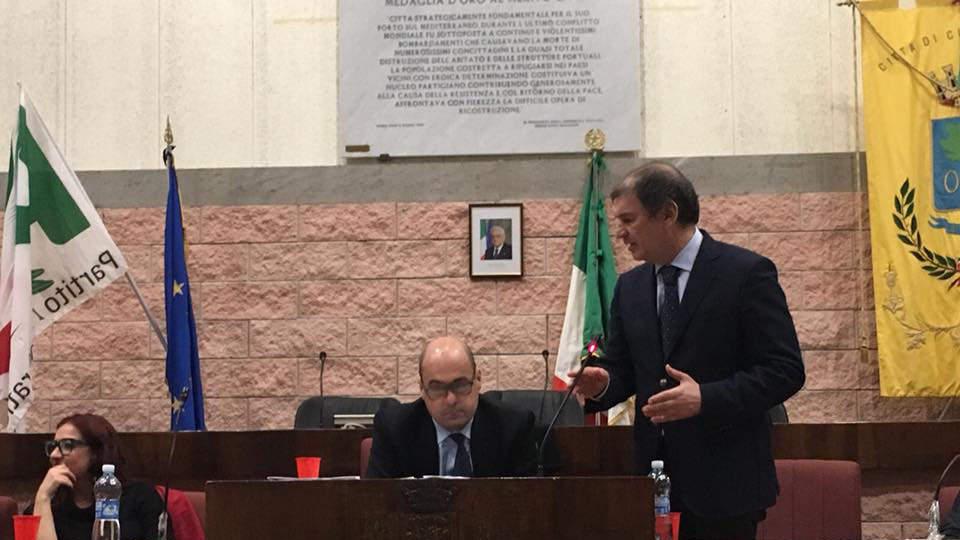 Zingaretti sabato a Civitavecchia per sostenere Tarantino