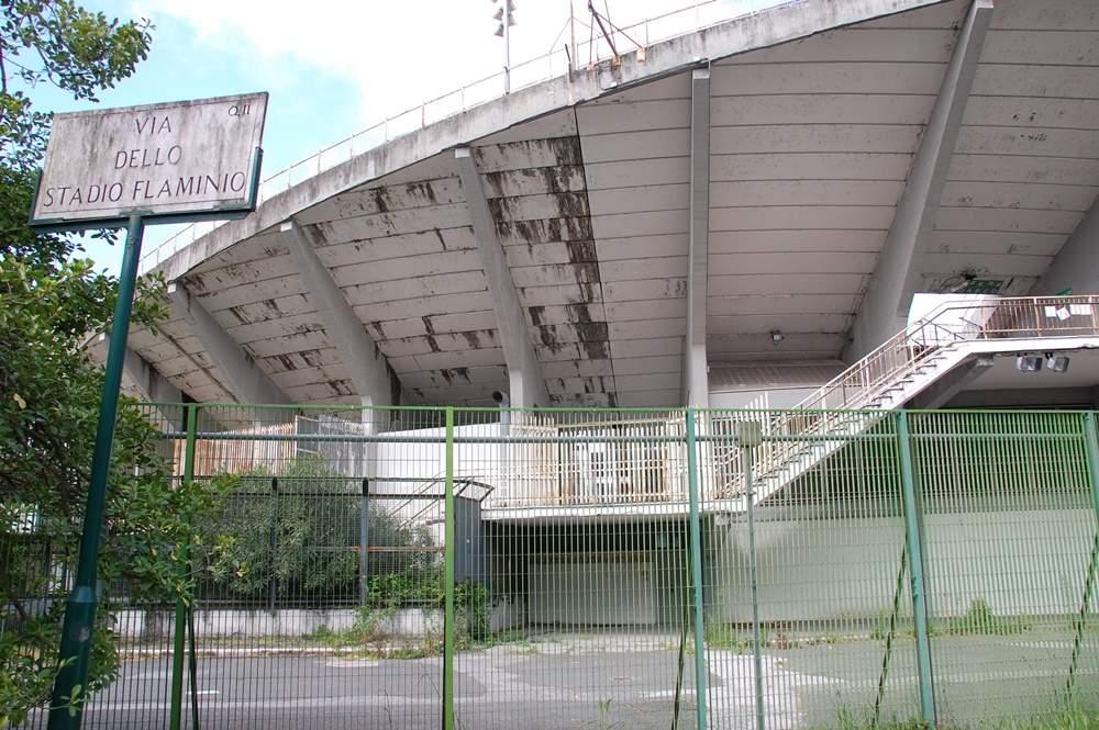 Flaminio, riqualificazione della caserma di via Reni mentre lo stadio resta un rudere