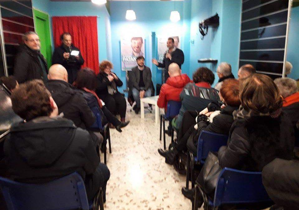 Ladispoli, sabato in tanti all'inaugurazione del comitato elettorale di Eugenio Patané