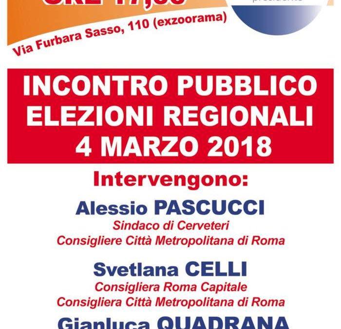 Regionali, Governo Civico per Cerveteri incontra Gianluca Quadrana