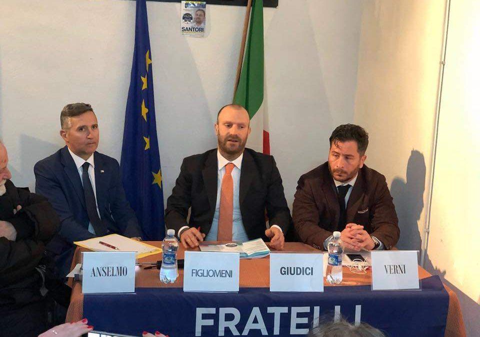 Santa Marinella, prosegue la scuola politica di Fratelli d'Italia