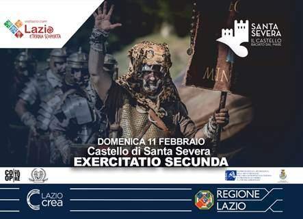 """Castello di Santa Severa: """"Exercitatio secunda"""" della legione nel castrum"""