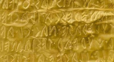 """""""Gli Etruschi alla scoperta del Braille"""" laboratorio di scrittura e visite tattili"""