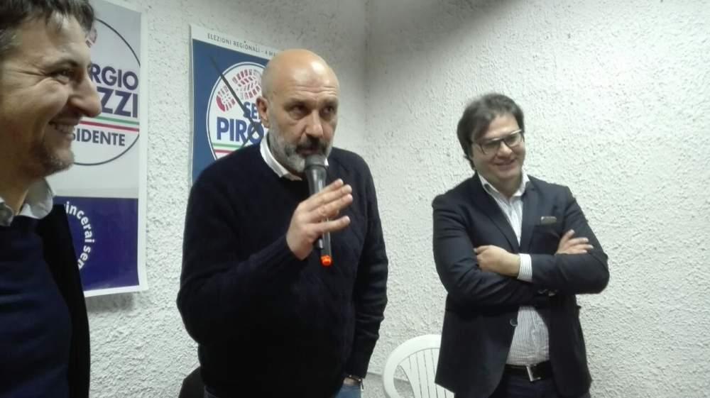 Civitavecchia, in via Benci e Gatti l'ufficio elettorale di Pirozzi