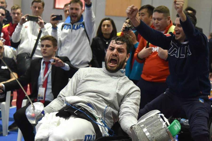"""Scherma paralimpica, doppio oro di Giordan in Coppa del Mondo. Montino e Calicchio: """"Fiumicino orgogliosa di te"""""""