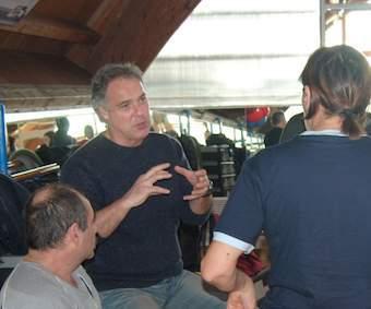 Marco Vallarino spiega la tecnica teatrale Meisner-Strasberg