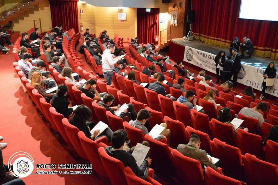 Tarquinia, i partecipanti delle Olimpiadi della cultura e del talento in visita al palazzo comunale