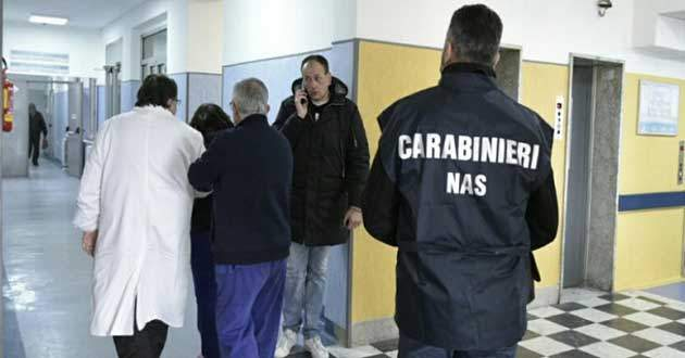 Ladro di bisturi e medicinali: denunciato medico dell'ospedale di Tarquinia