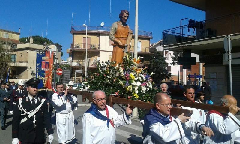 Ladispoli, oggi la processione di San Giuseppe