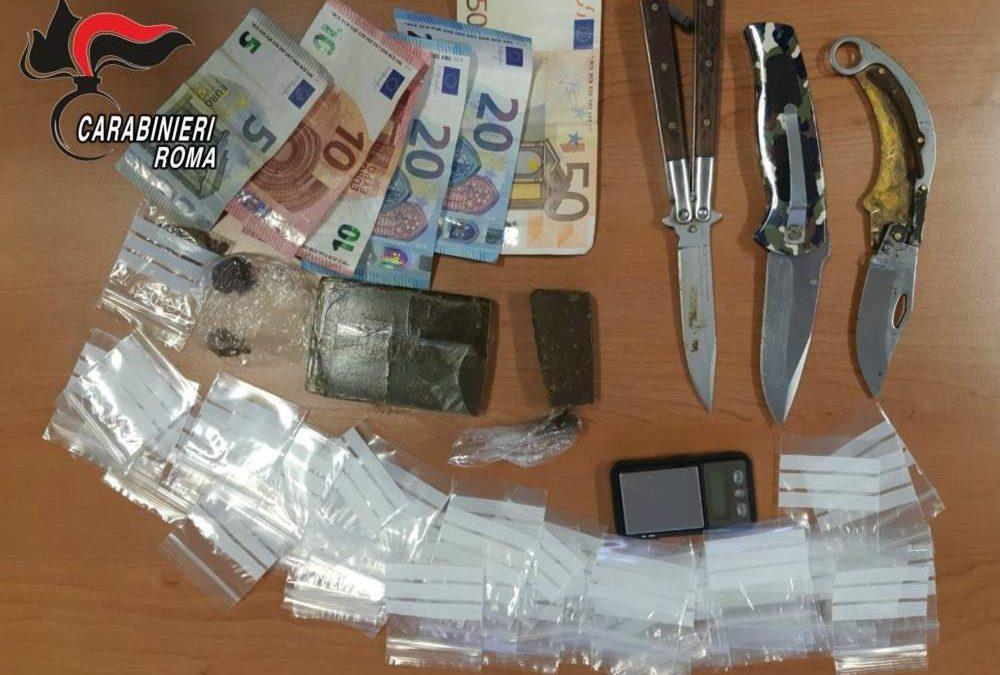 Bracciano, pusher 22enne arrestato: spacciava ai minorenni