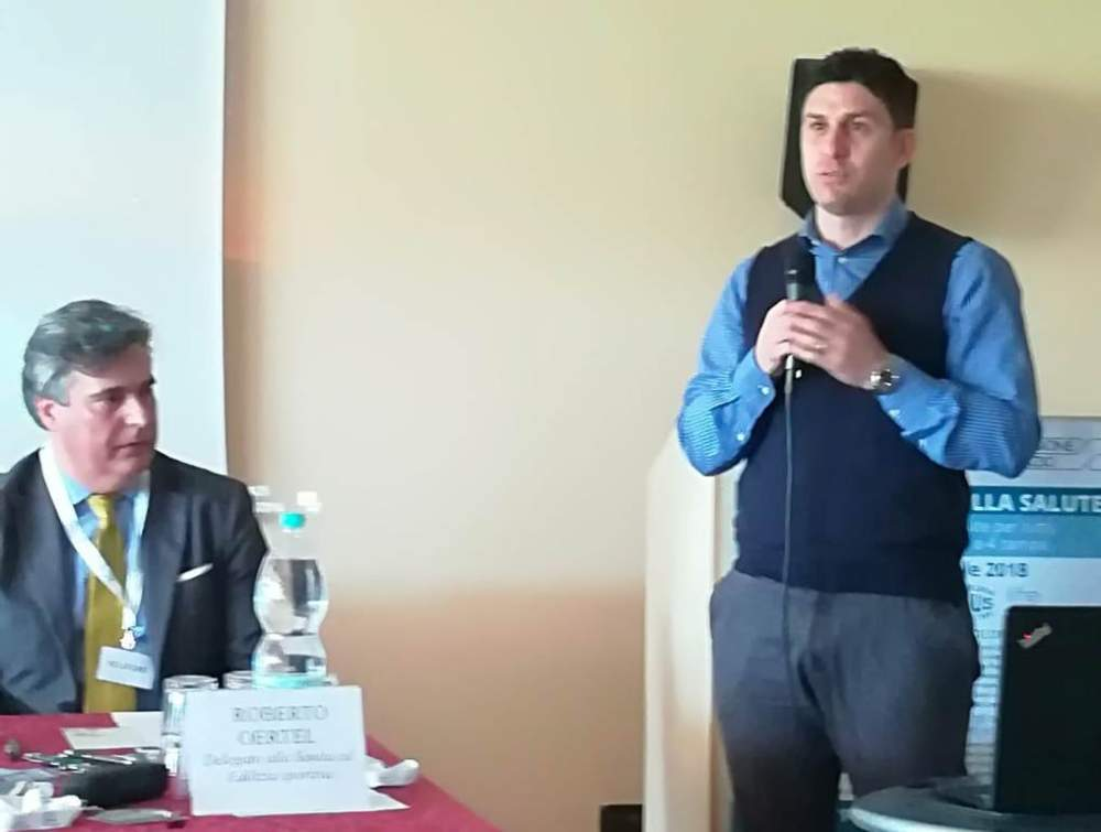 Delegato Oertel Ladispoli ed il sindaco Alessandro Grando