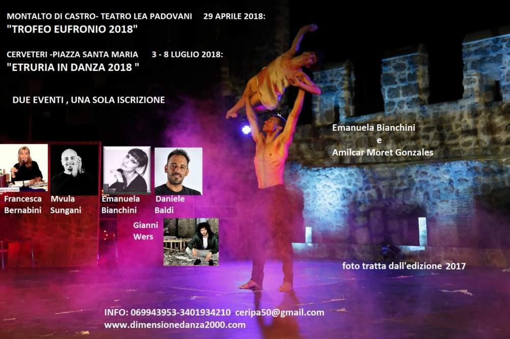 Cerveteri, tante adesioni alla terza edizione del trofeo nazionale di Danza Eufronio