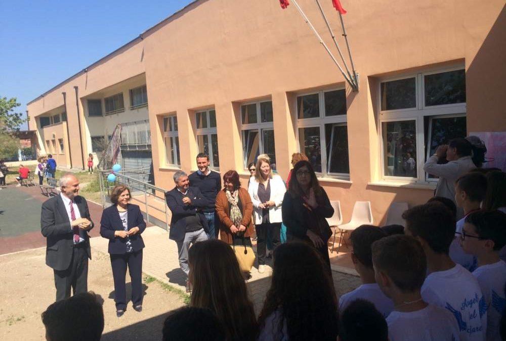 Passoscuro, rinasce la scuola: nuove coperture, nuove facciate e il giardino per i bambini