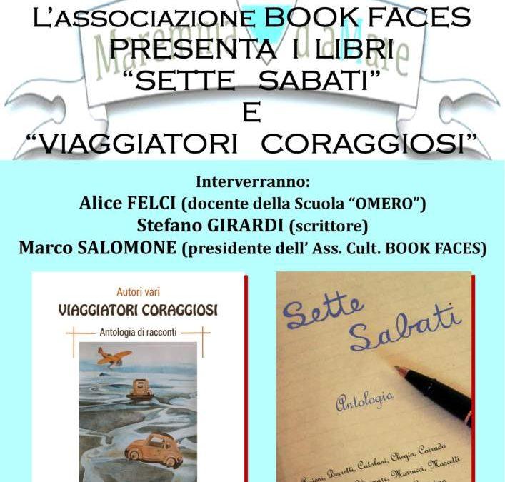 Montalto Marina, presso il Centro Servizi la presentazione di due libri pubblicati sotto il marchio Book Faces