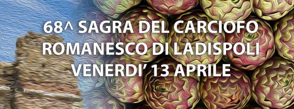 Ladispoli, è Sagra del Carciofo: ecco il programma di venerdì 13 aprile