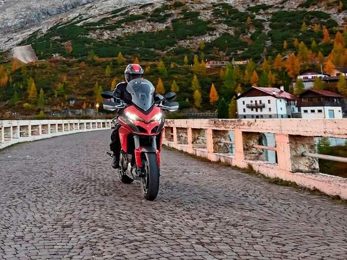 """Tolfa, domani il """"Ducati multistrada experience"""""""