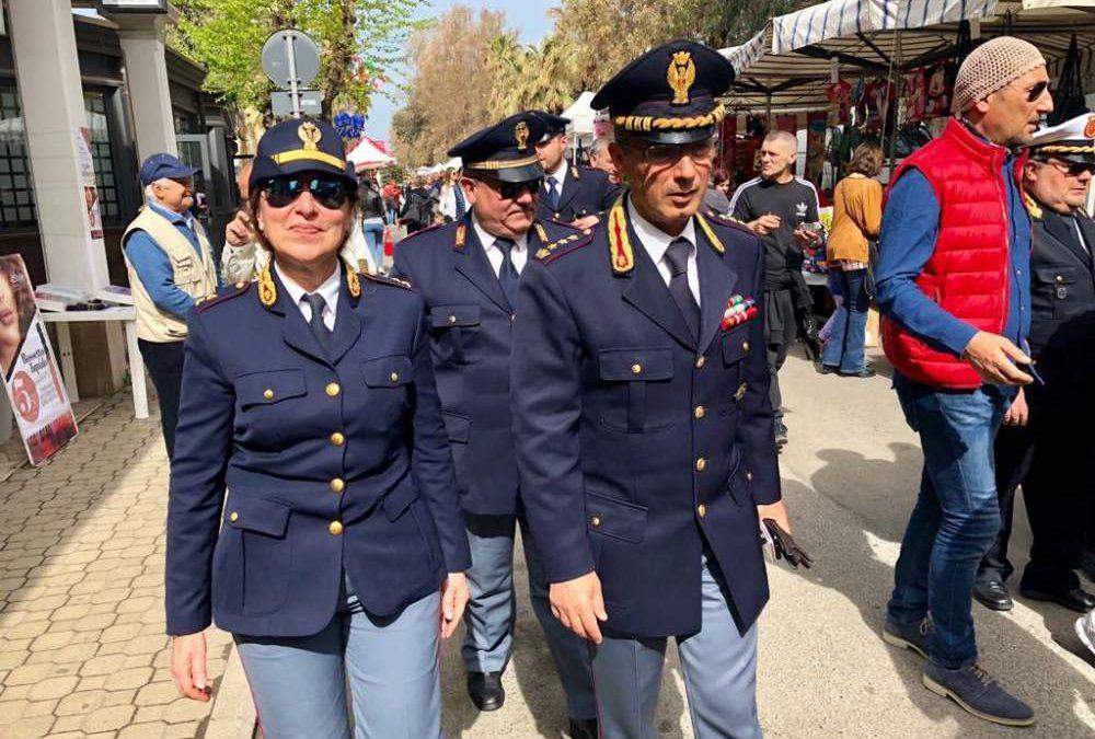 Ladispoli, il dirigente di polizia Regna alla Sagra del Carciofo