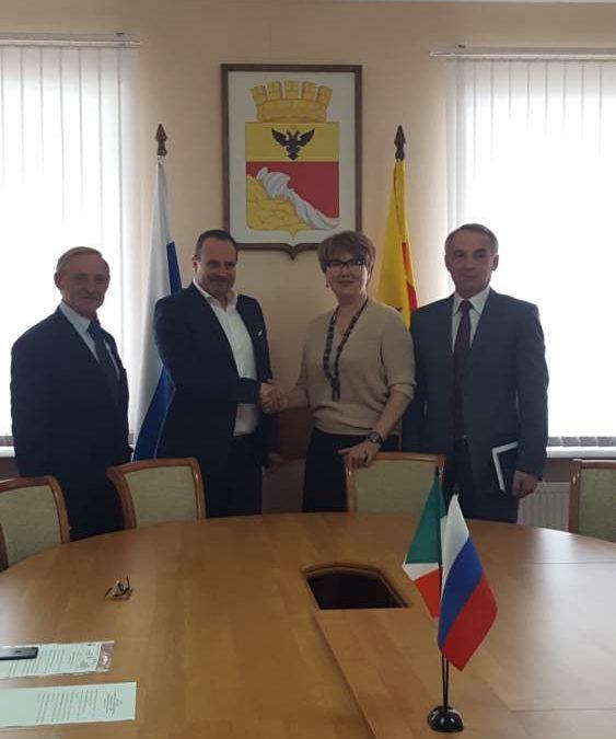 Ladispoli, gradi passi verso il gemellaggio con i russi di Voronezh