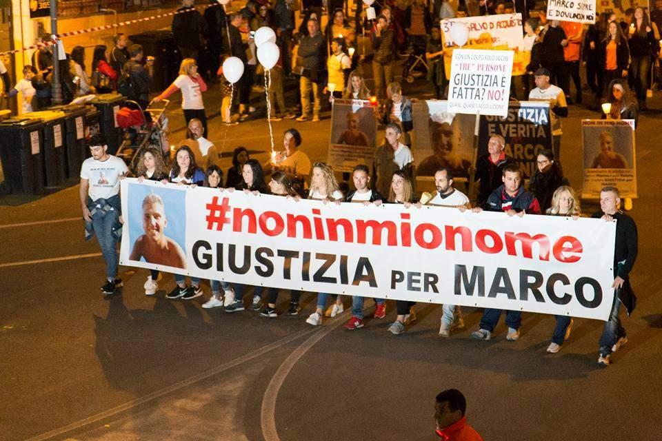 Diecimila persona in piazza per chiedere Giustizia e Verità per Marco Vannini