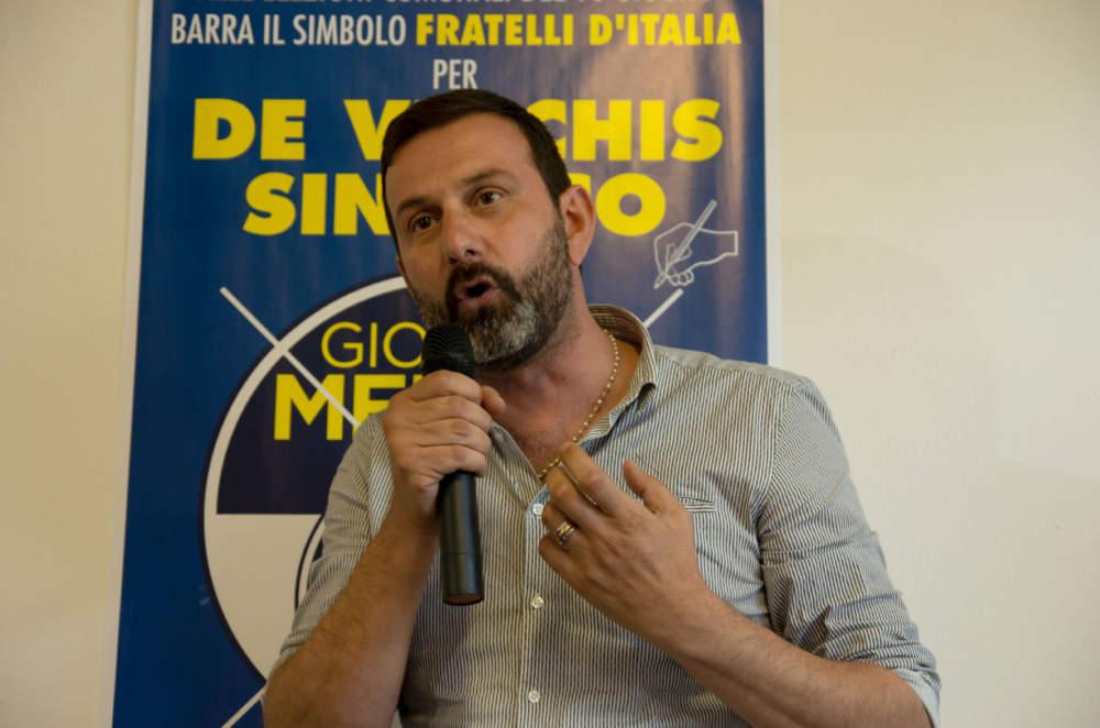 """Presentazione FdI Fiumicino, De Vecchis: """"Abbiamo già vinto. Noi siamo il presente e il futuro"""""""