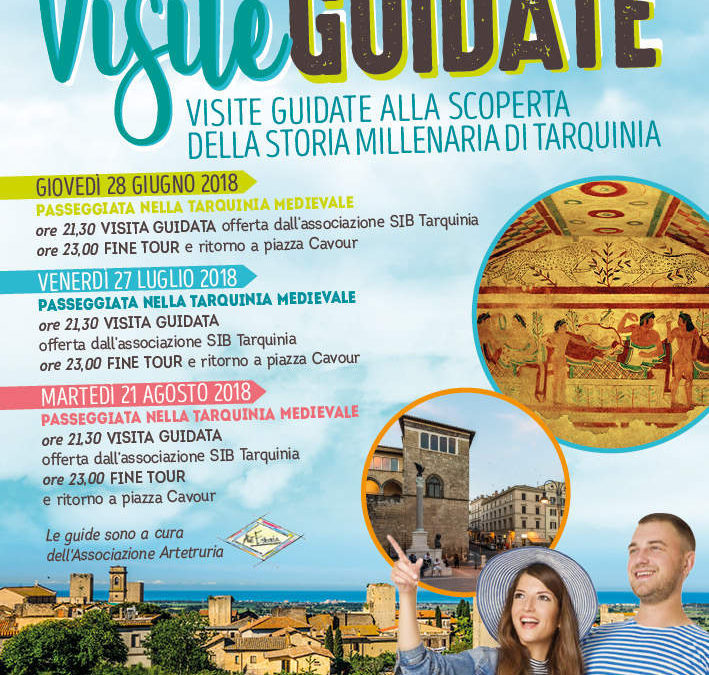 S.I.B. Tarquinia, visite guidate alla scoperta della storia millenaria di Tarquinia