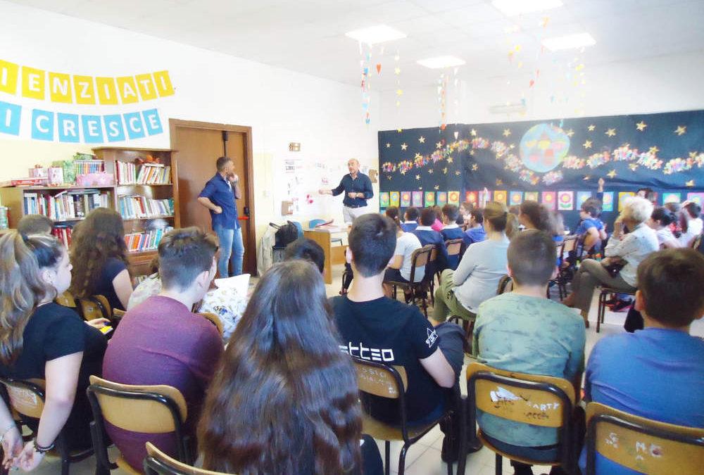 Civitavecchia, lettura e informazione arrivano alla scuola Borlone