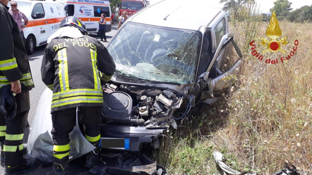 Incidente Fiumicino, Vigili del Fuoco